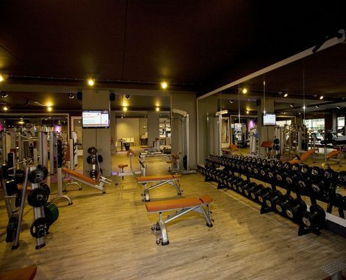 Newstyle bisonspoor fitness