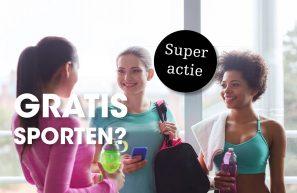 Septemberactie: Sport nu tot 28 weken GRATIS!